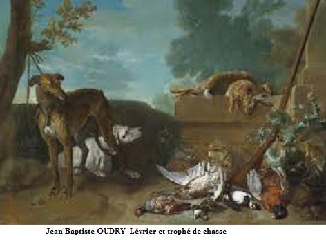 1723 jean baptiste oudry levrier retour de chasse