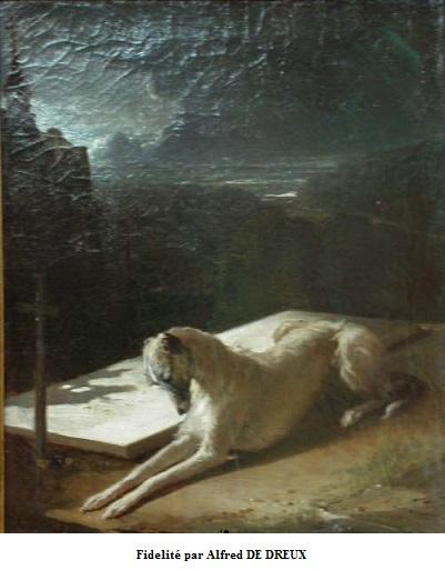 1850 alfred de dreux fidelite