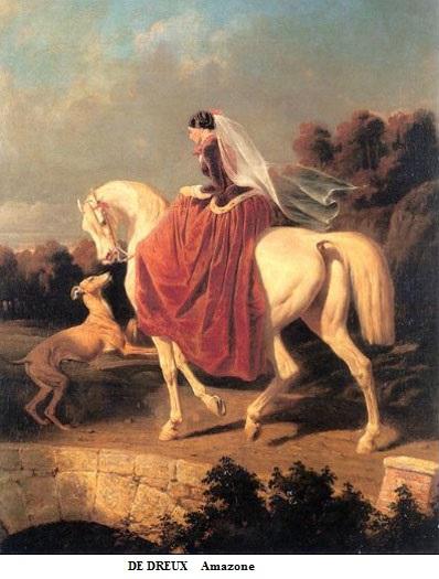 1855 de dreux amazone toile