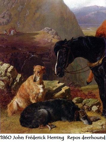 1860 john frederick herring repos deerhound