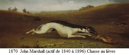1870 john marchall chasse au lievre