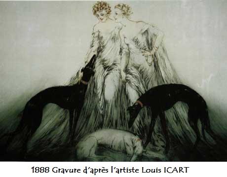 1888 gravure d apres l artiste louis icart
