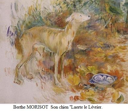 1894 berthe morisot 1841 1895 laerte le levrier